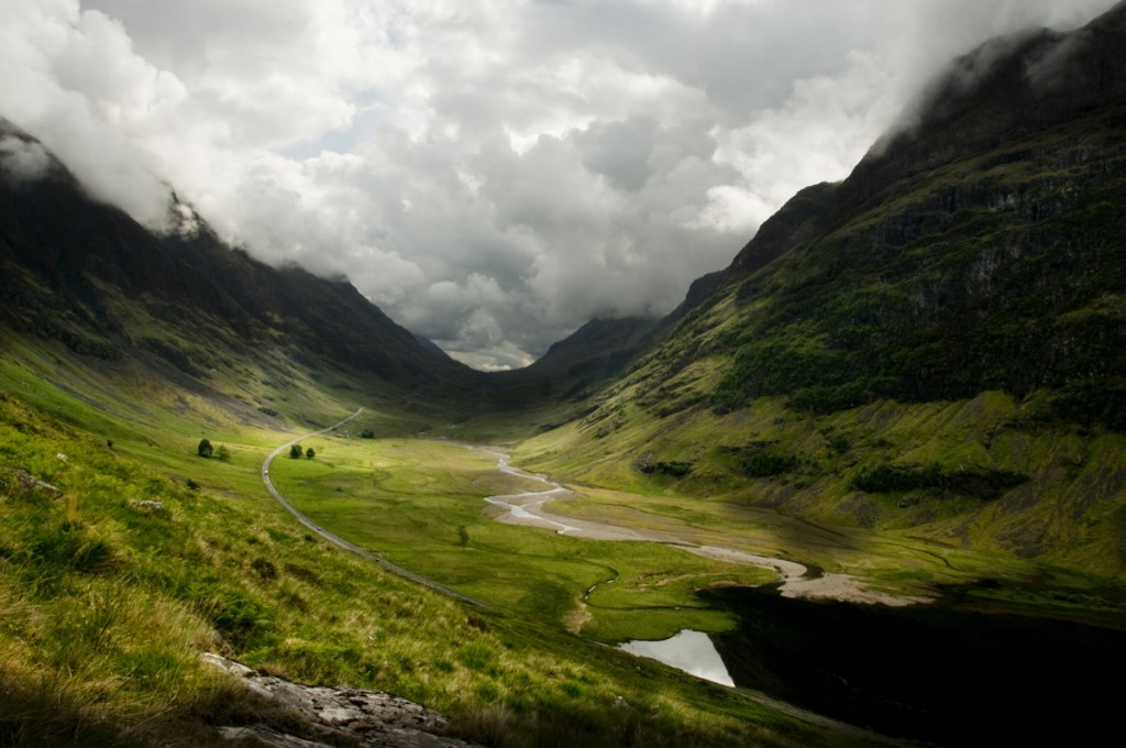 Fall In Ireland Wallpaper Valle De Glen Coe Tierras Altas De Escocia