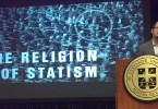 Estatismo es religión