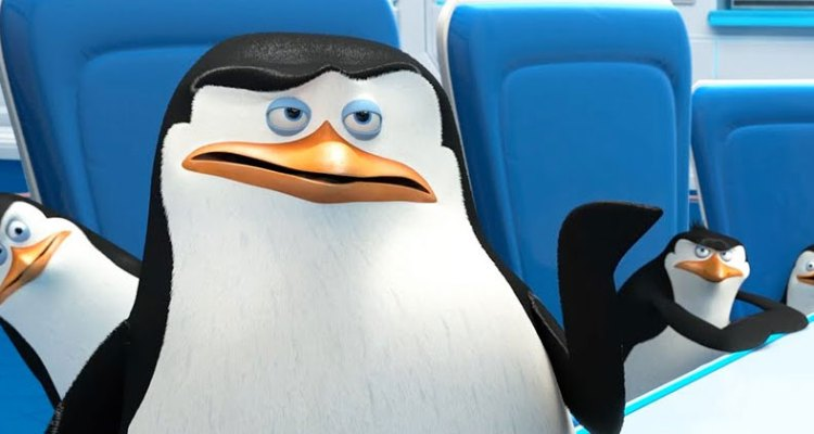 watch the funny penguins of madagascar second trailer