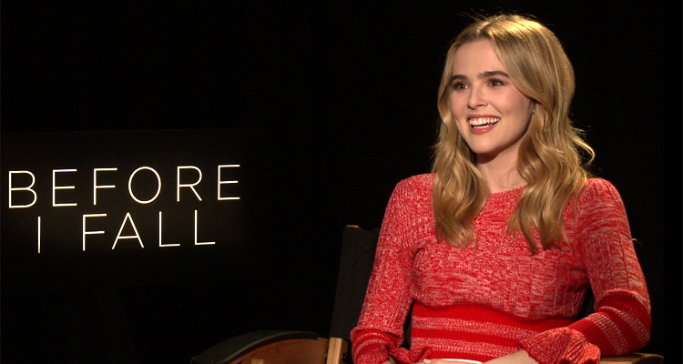 BEFORE I FALL Interview: Zoey Deutch