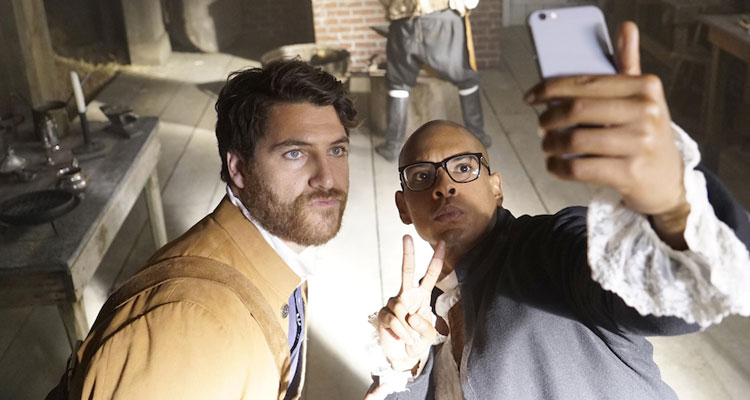 Adam Pally Talks MAKING HISTORY