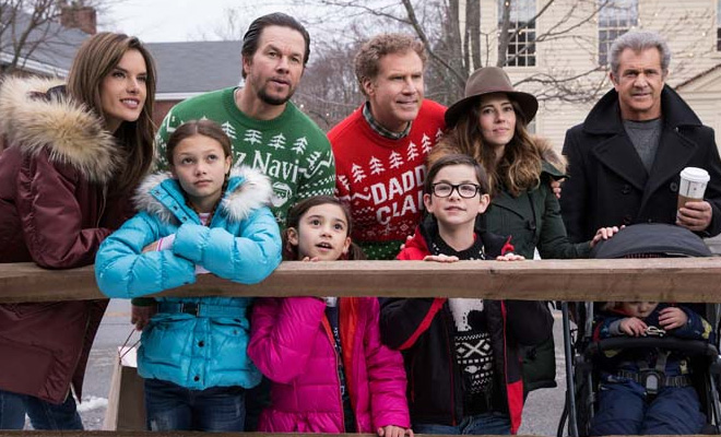 Scarlett Estevez & Owen Vaccaro on DADDY'S HOME 2