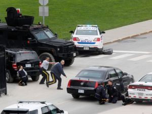 Carros de policía Canadá