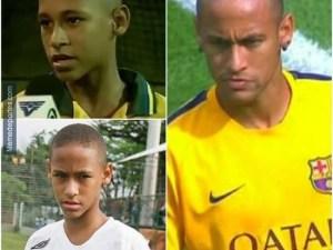 neymar coco raspao