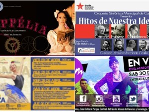agenda cultural  de Caracas