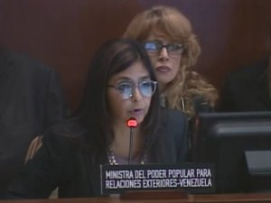 Delcy Rodriguez OEA