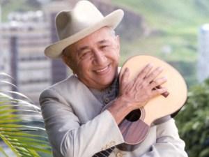 Simón Díaz, cantautor venezolano.