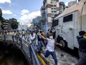 manifestaciones violentas
