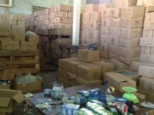 182 mil 602 kilogramos de productos de la cesta básica