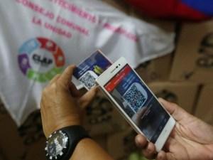 billetera móvil del Carnet de la Patria