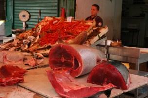 """Pescado en el """"Mercato della Vucciria"""""""