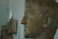 En el museo arqueológico de Palermo