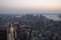 Skyline desde el Empire State Building