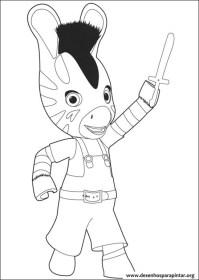 Zou a Zebra da Disney desenhos para imprimir colorir e ...