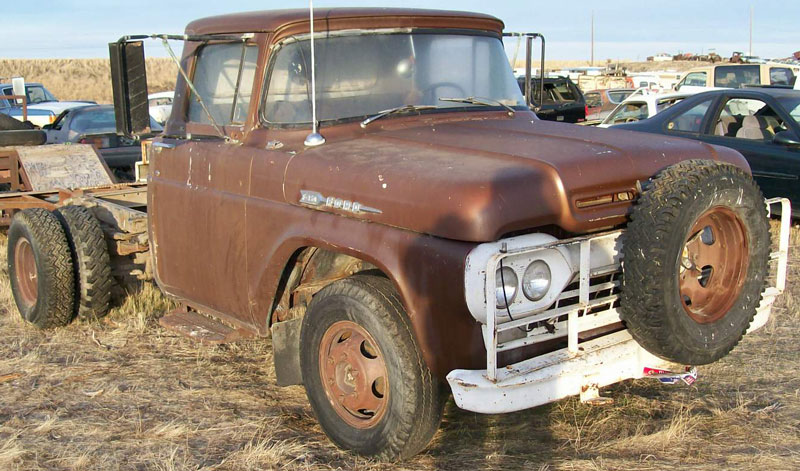 Restored, Original and Restorable Ford Trucks For Sale 1956-1996