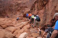 Hiking Fiery Furnace - Desert Road Trippin'
