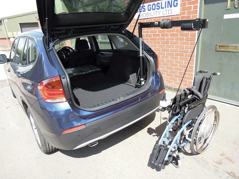 Wheelchair And Scooter Hoists Des Gosling Mobility