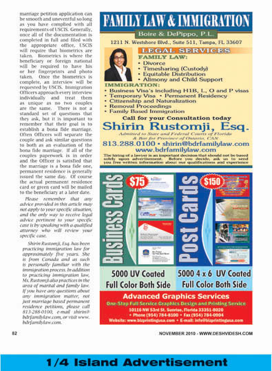 Ad Sample Layout Desh Videsh