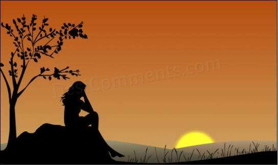Sad Quotes Wallpapers In Hindi Girl Sitting Alone Desicomments Com
