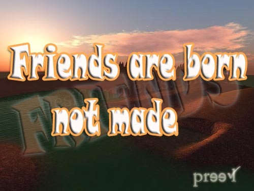 Alone Sad Quotes Wallpapers Friends Are Born Not Made Desicomments Com
