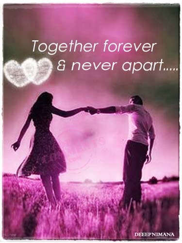 Download Romantic Quotes Wallpapers Together Forever Amp Never Apart Desicomments Com