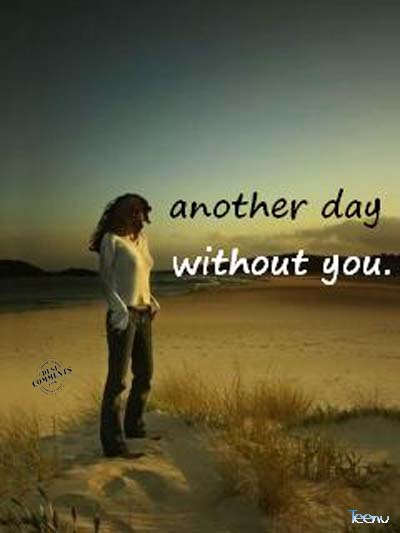 Sad Shayari With Sad Girl Wallpaper Hd Another Day Without You Desicomments Com