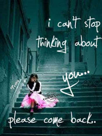 Very Very Sad Wallpapers With Quotes I Can T Stop Thinking About You Desicomments Com