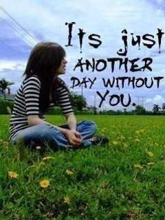 Couple Wallpapers With Quotes In Hindi It S Just Another Day Without You Desicomments Com