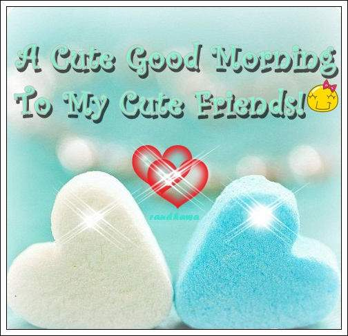 Cute Wallpapers Of Wofe A Cute Good Morning To My Cute Friends Desicomments Com