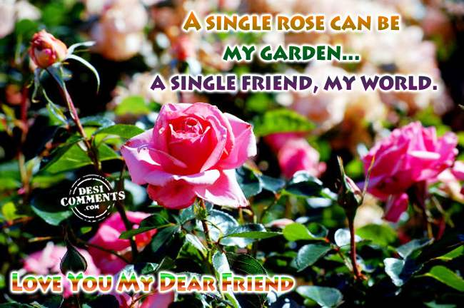 Lovely Wallpapers With Quotes In Hindi Love You My Dear Friend Desicomments Com