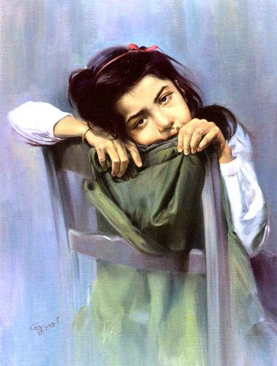 Good Morning Wallpapers With Quotes In Hindi Painting Of A Sad Girl Desicomments Com