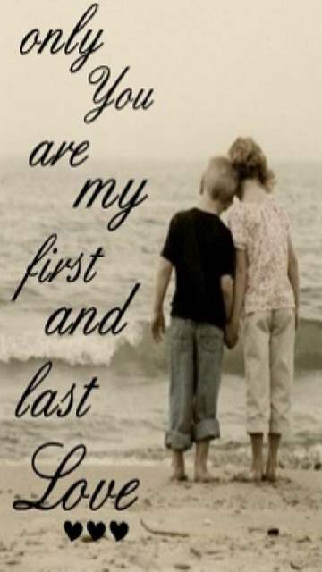 Deep Quotes About Life Wallpaper Only You Are My First And Last Love Desicomments Com