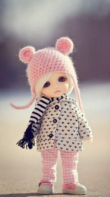 Cute Dolls Wallpapers With Quotes Cute Little Doll Desicomments Com