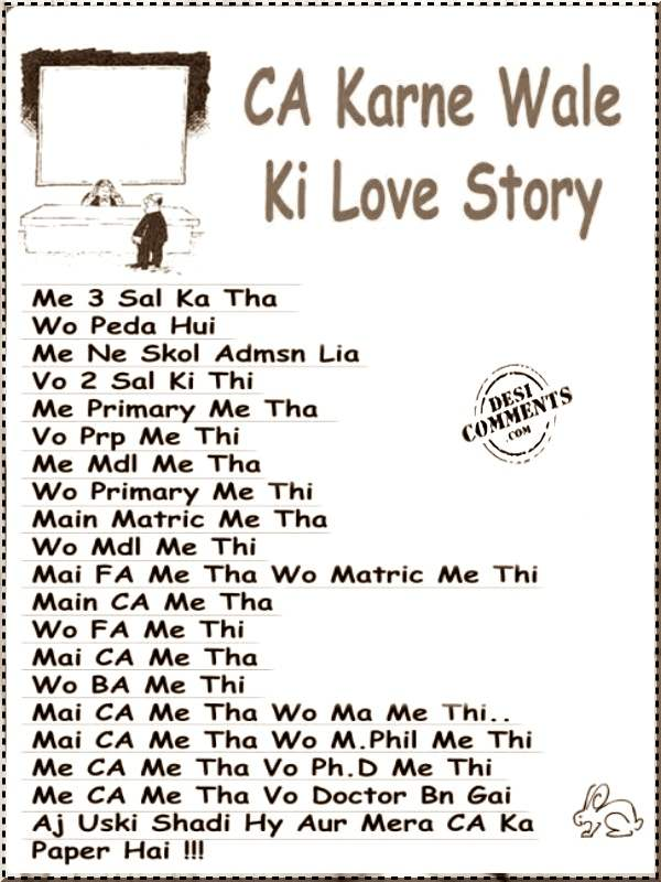 Funny Gujarati Quotes Wallpapers Ca Karne Wale Ki Love Story Desicomments Com