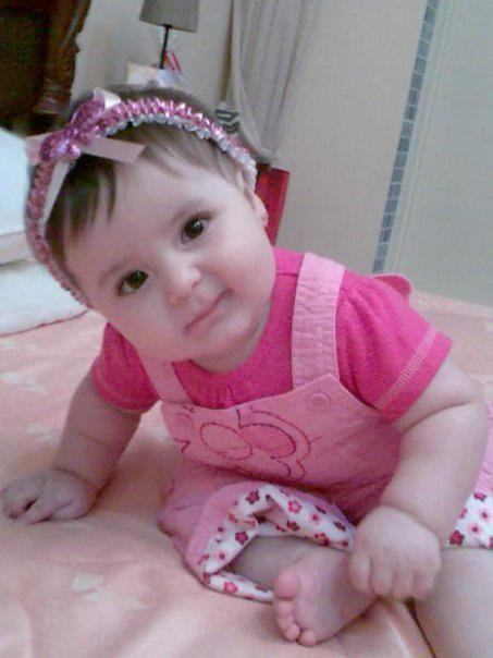 Cute Muslim Baby Wallpapers Baby In Pink Desicomments Com