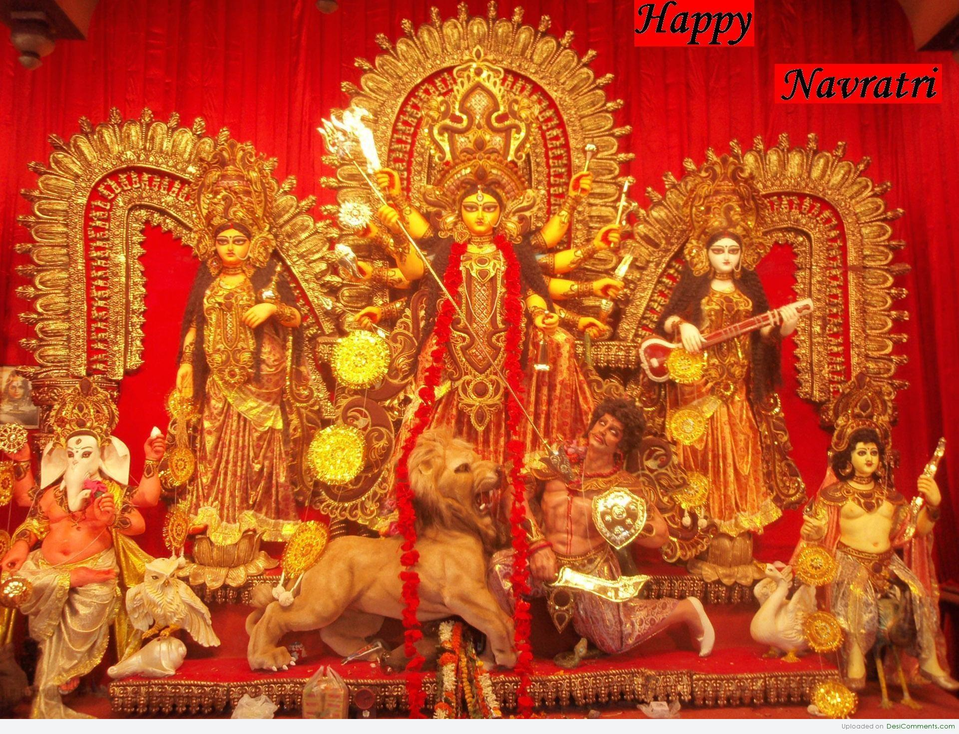 Lalitha 3d Name Wallpapers Happy Navratri Desicomments Com
