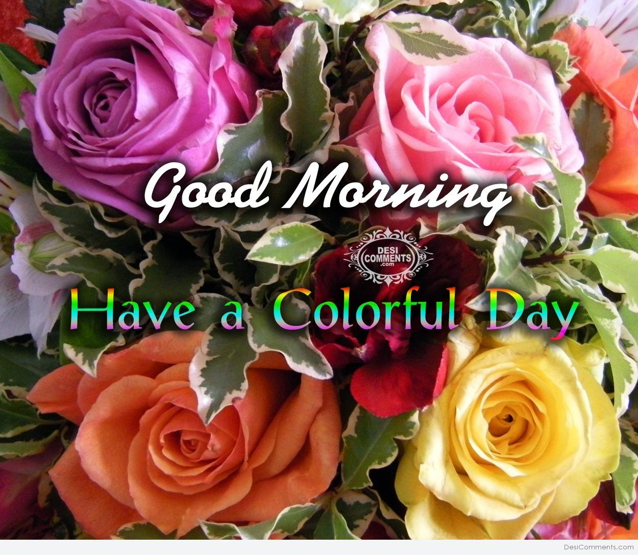 Download Good Night Wallpapers With Quotes Good Morning Have A Colorful Day Desicomments Com
