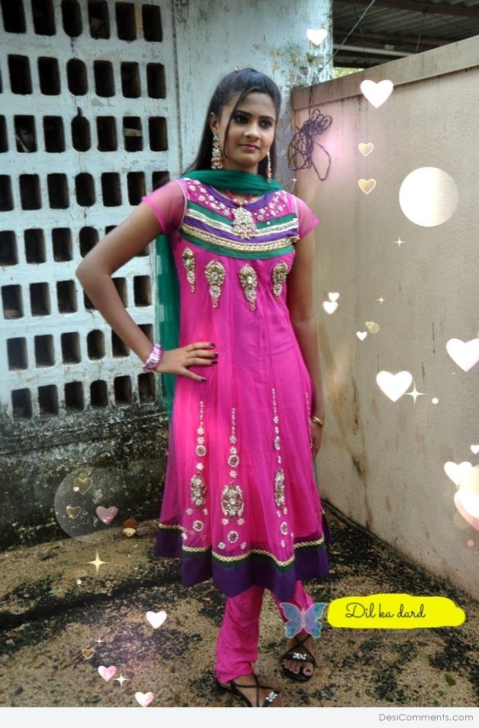 Girl Punjabi Suit Wallpaper Pushpa Anand Desicomments Com