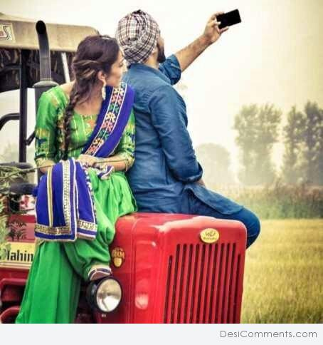 Cute Attitude Girl Wallpaper Download Punjabi Couple Desicomments Com