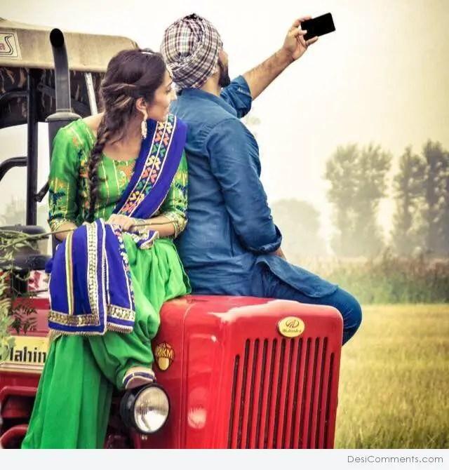 Quotes Hindi Wallpaper Download Beautiful Punjabi Couple Desicomments Com