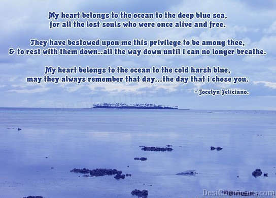 Sad Wallpapers And Quotes Ocean Poem Desicomments Com