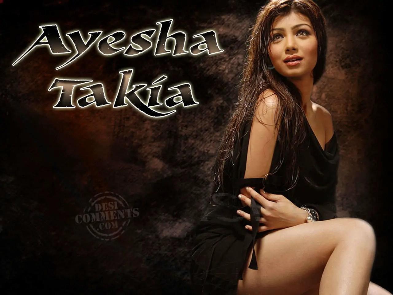 Punjabi Girl With Gun Hd Wallpaper Hot Pose Ayesha Takia Desicomments Com