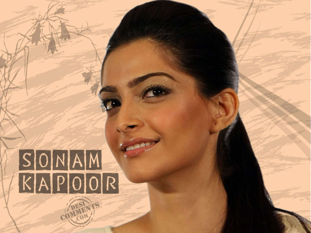 Nice Wallpapers With Quotes About Life In Hindi Sonam Kapoor Wallpapers Bollywood Wallpapers