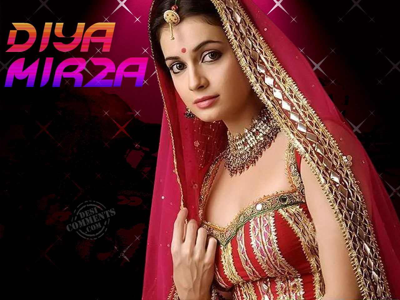 Hd Sad Shayari Girl Wallpaper Diya Mirza Wallpapers Bollywood Wallpapers
