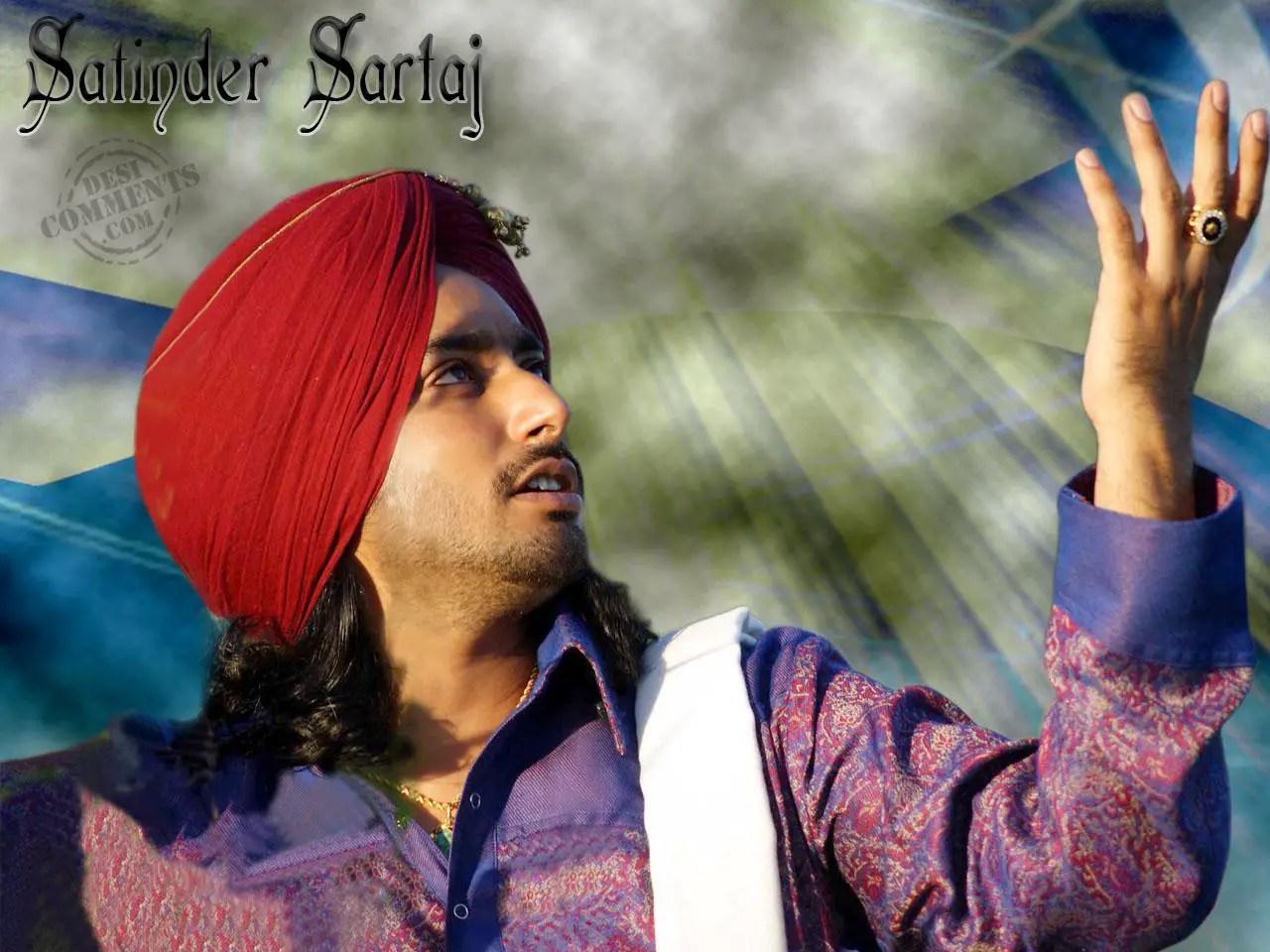 Hindi Quotes Wallpaper Sad Satinder Sartaj Punjabi Celebrities Wallpapers