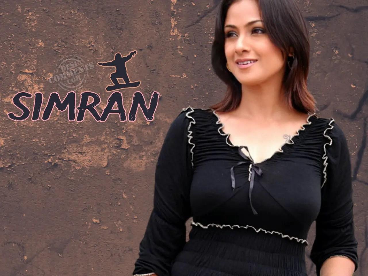 All Hindi Girl Wallpaper Simran Wallpapers South Indian Celebrities