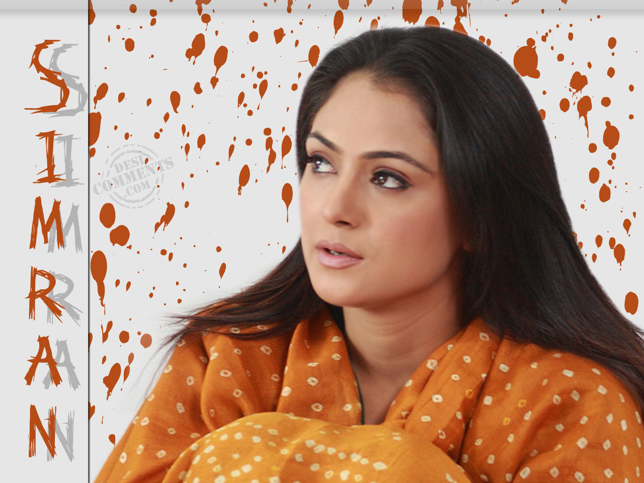 Pretty Girl Quotes Wallpapers Simran Wallpapers South Indian Celebrities