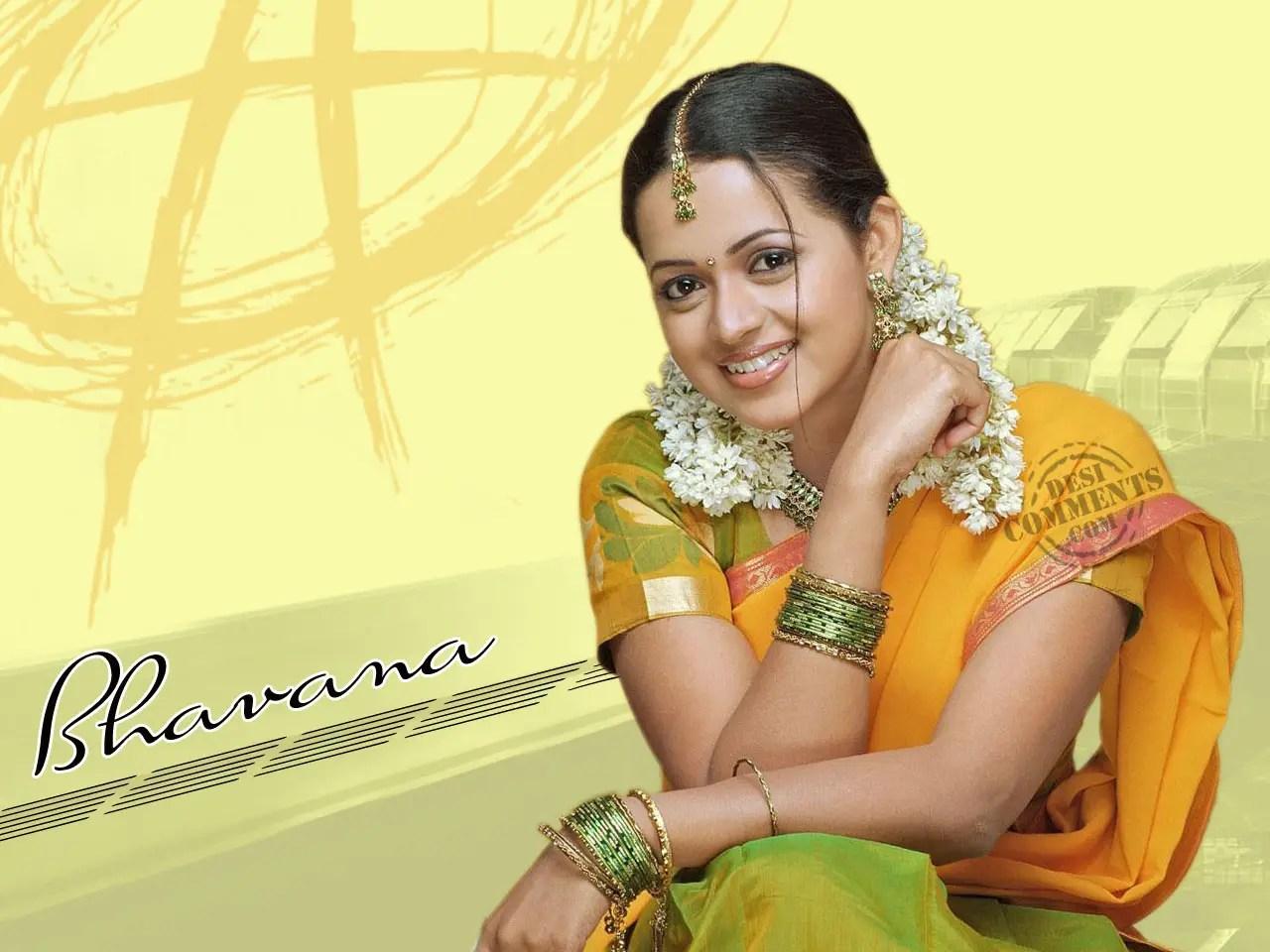 Punjabi Girl With Gun Hd Wallpaper Bhavana Wallpapers South Indian Celebrities Page 2