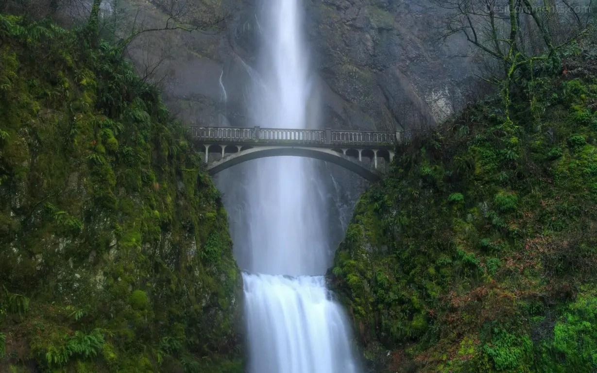 Boys Like Girls Wallpaper Bridge Over Waterfall Desicomments Com