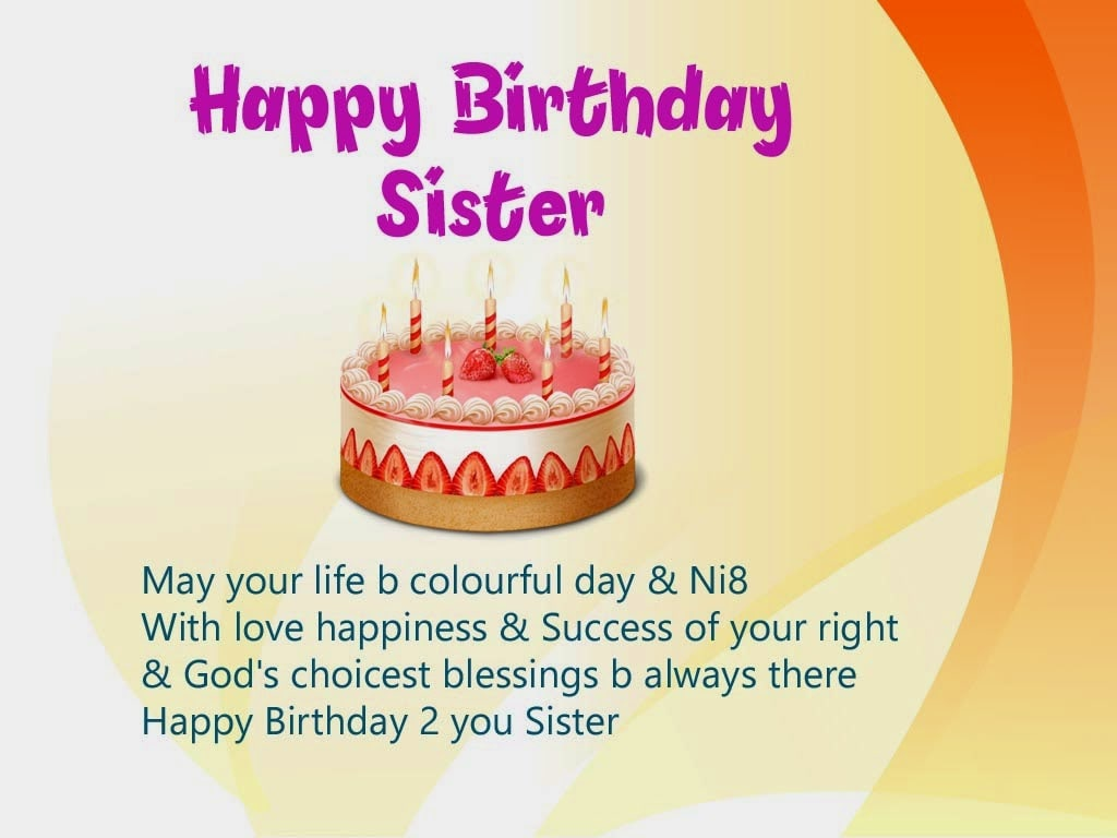 Happy Birthday Images Sister Hindi Goodpict1st